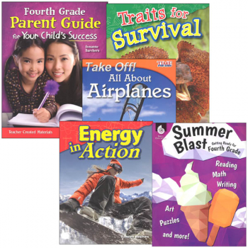 Learn-at-Home Summer STEM Bundle with Parent Guide Grade 4