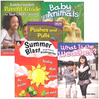 Learn-at-Home Summer STEM Bundle with Parent Guide Grade K