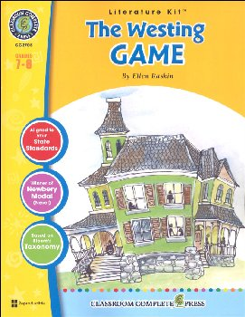Westing Game Literature Kit (Novel Study Guides)