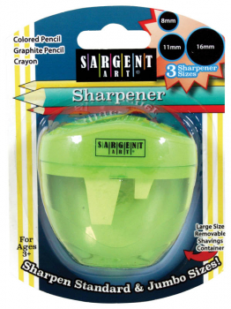 Sharpener 3-Hole (Green)