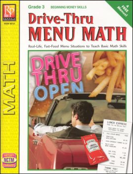 Drive-Thru Menu Math - Beginning Money Skills