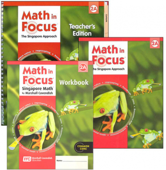 Math in Focus Grade 2 Homeschool Package - 1st Semester