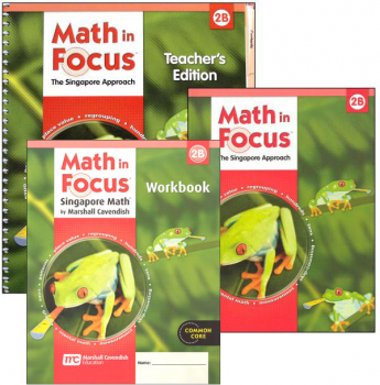 Math in Focus Grade 2 Homeschool Package - 2nd Semester