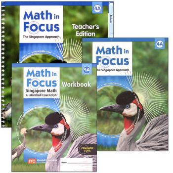 Math in Focus Grade 4 Homeschool Package - 1st Semester