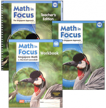 Math in Focus Grade 4 Homeschool Package - 2nd Semester