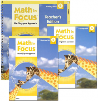 Math in Focus Grade K Homeschool Package - 2nd Semester