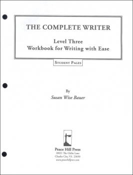 Complete Writer: Writing With Ease Level 3 Student Pages