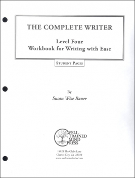 Complete Writer: Writing With Ease Level 4 Student Pages