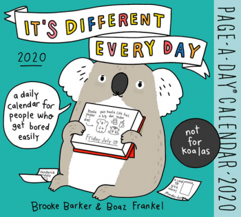 It's Different Every Day Page-A-Day Calendar 2020