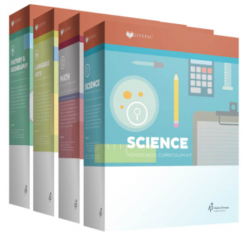 Lifepac Core 4 Subject Set - Grade 4