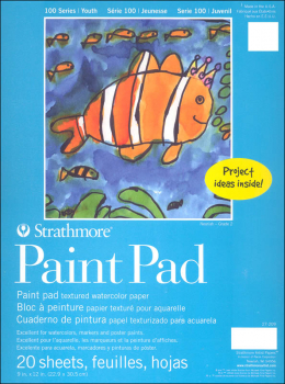 Strathmore Kids Paint Pad 9 x 12 (20 sheets)