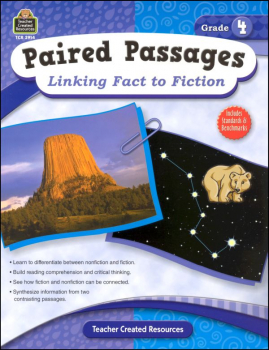 Paired Passages: Linking Fact to Fiction - Grade 4