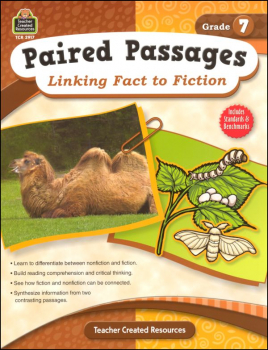 Paired Passages: Linking Fact to Fiction - Grade 7