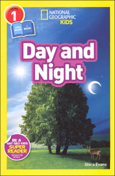 Day and Night (National Geographic Reader Level 1)