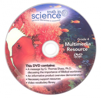 Truth in Science Grade 4 Multimedia/Support DVD