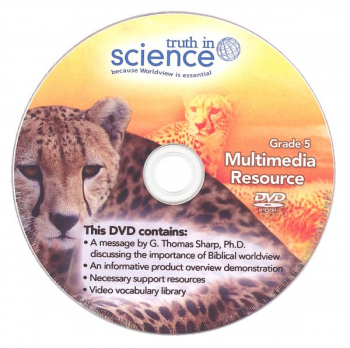 Truth in Science Grade 5 Multimedia/Support DVD