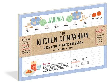 Kitchen Companion 2021 Page-A-Week Calendar