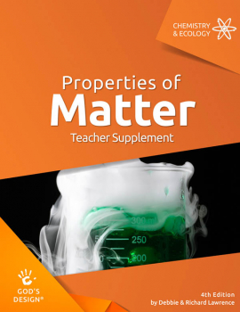Properties of Matter Teacher Supplement 4th Ed.