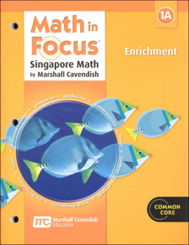 Math in Focus Grade 1 Enrichment A