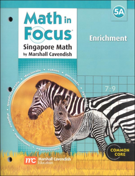 Math in Focus Grade 5 Enrichment A