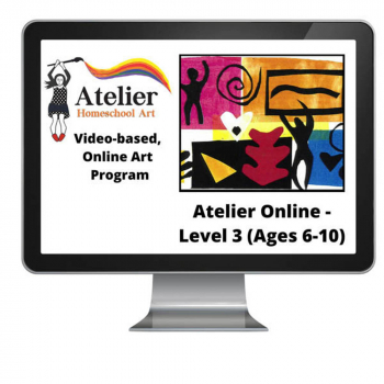 Atelier Online Art Curriculum - Complete Level 3