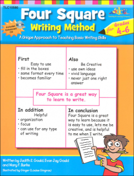Four Square Writing Method for Gr. 4-6 w/ CD