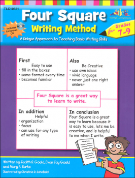 Four Square Writing Method for Gr. 7-9 w/ CD