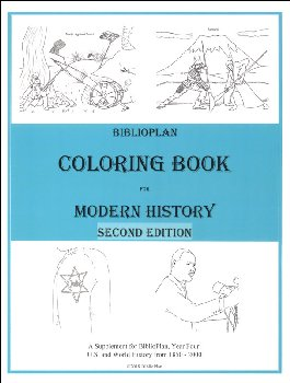 BiblioPlan: Modern America and the World (1850-2000) Coloring Book