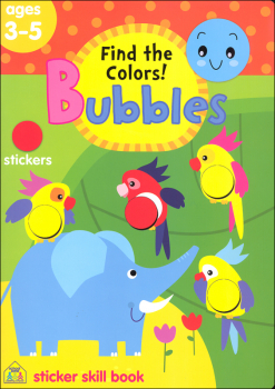 Bubbles Find the Colors! Workbook