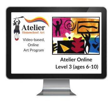 Atelier Online Art Curriculum - Enriched Level 3