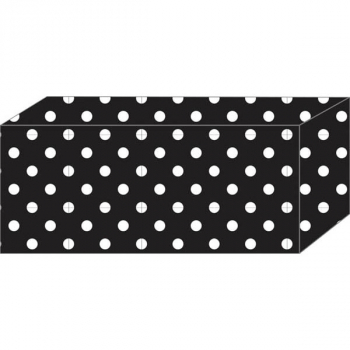 Superstrong Decorative Block Magnet - B & W Dots