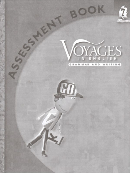 Voyages in English 2011 Grade 7 Assessment