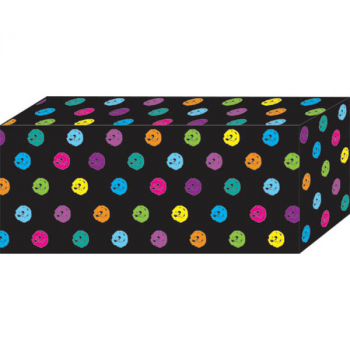 Superstrong Decorative Block Magnet - Chalk Color Dots