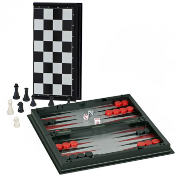 3-in-1 Combination Game Set - Travel Size