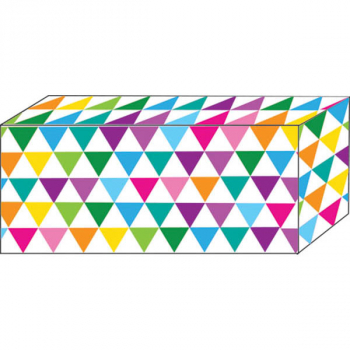 Superstrong Decorative Block Magnet - Color Triangles