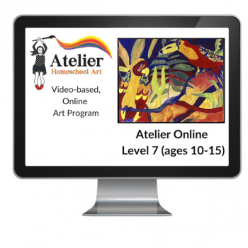 Atelier Online Art Curriculum - Enriched Level 7