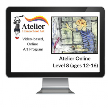 Atelier Online Art Curriculum - Enriched Level 8