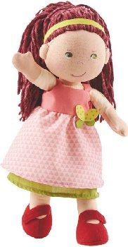 "Mona - 12"" Cloth Doll (Lilli and Friends)"