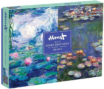 Monet 2-in-1 Double Sided Puzzle (500 Pieces)