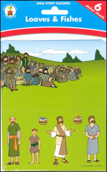 Loaves & Fishes Bible Story Builder Stickers