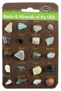 Rocks & Minerals of the USA