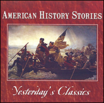 American History Stories MP3 CD