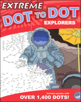 Extreme Dot to Dots Book - Explorers