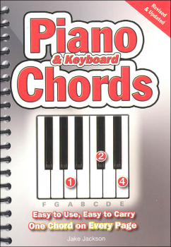 Piano & Keyboard Chords (Easy-to-Use, Easy-to-Carry, One Chord on Every Page)