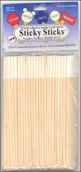 Sticky Sticks (25 Self-Adhesive)