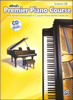 Alfred's Premier Piano Course Level 1B With CD