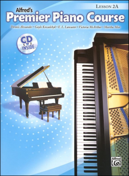 Alfred's Premier Piano Course Level 2A With CD