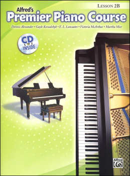 Alfred's Premier Piano Course Level 2B With CD