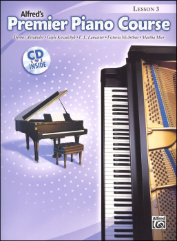 Alfred's Premier Piano Course Level 3 With CD