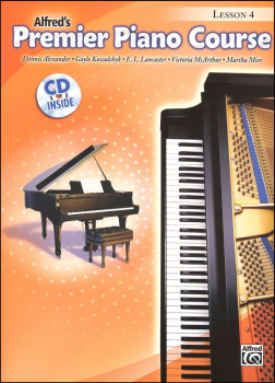 Alfred's Premier Piano Course Level 4 With CD
